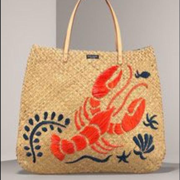 616309e7e3 kate spade Handbags - Kate Spade Lobster Straw Tote